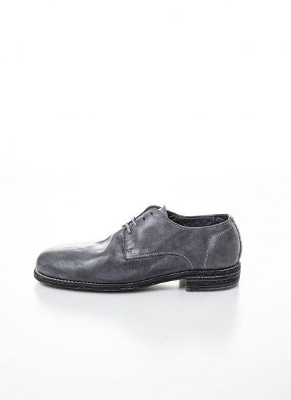 GUIDI men classic derby shoe 992 herren schuh goodyear horse full grain leather grey CO49T hide m 2