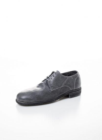 GUIDI men classic derby shoe 992 herren schuh goodyear horse full grain leather grey CO49T hide m 3