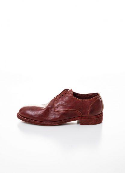 GUIDI men classic derby shoe 992 herren schuh goodyear horse full grain leather red 1006T hide m 2