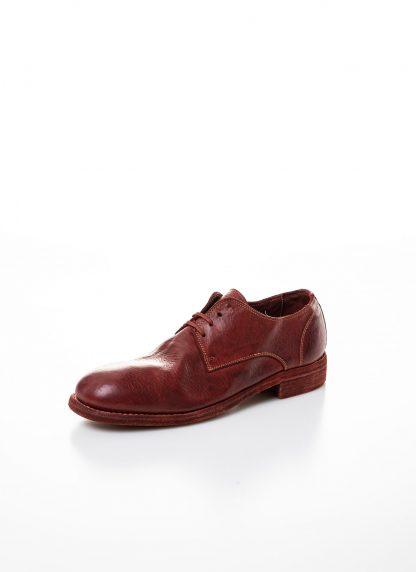 GUIDI men classic derby shoe 992 herren schuh goodyear horse full grain leather red 1006T hide m 3