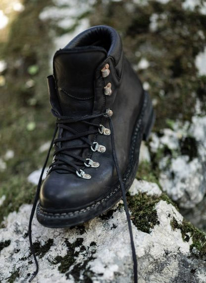 GUIDI men classic hiking boot 19 herren schuh bergschuh goodyear horse full grain leather black hide m 3