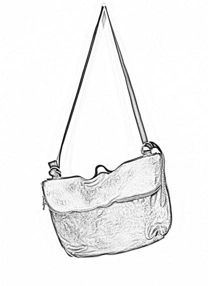 GUIDI messenger shoulder bag M10 tasche soft horse full grain leather black hide m 1