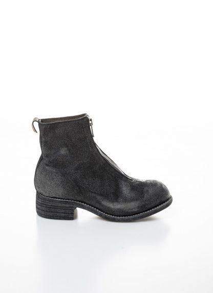 GUIDI women front zip boot PL1 RU damen schuh stiefel goodyear coated leather CV31T military green grey hide m 2