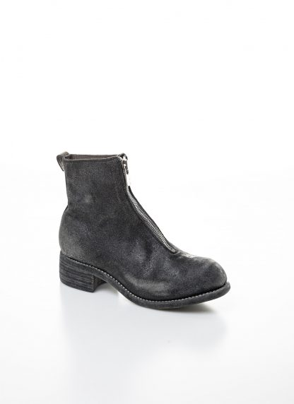GUIDI women front zip boot PL1 RU damen schuh stiefel goodyear coated leather CV31T military green grey hide m 3