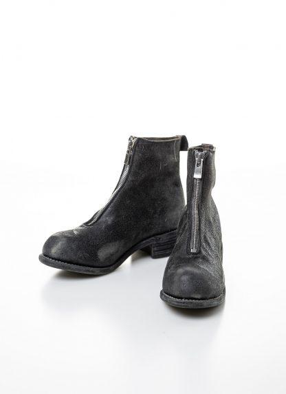 GUIDI women front zip boot PL1 RU damen schuh stiefel goodyear coated leather CV31T military green grey hide m 4