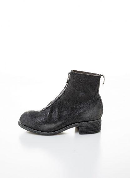 GUIDI women front zip boot PL1 RU damen schuh stiefel goodyear coated leather CV31T military green grey hide m 5