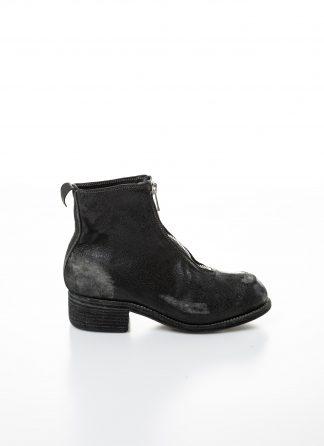 GUIDI women front zip boot PL1 RU damen schuh stiefel goodyear coated leather black hide m 2