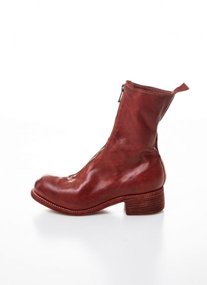 GUIDI women front zip boot PL2 damen schuh stiefel goodyear soft horse full grain leather 1006t red hide m 2