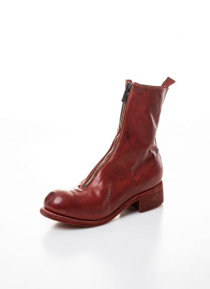 GUIDI women front zip boot PL2 damen schuh stiefel goodyear soft horse full grain leather 1006t red hide m 3