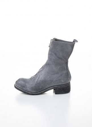 GUIDI women front zip boot PL2 damen schuh stiefel goodyear soft horse full grain leather CO49T harry grey hide m 2