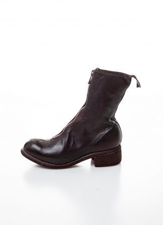 GUIDI women front zip boot PL2 damen schuh stiefel goodyear soft horse full grain leather CV23T burgundy hide m 2