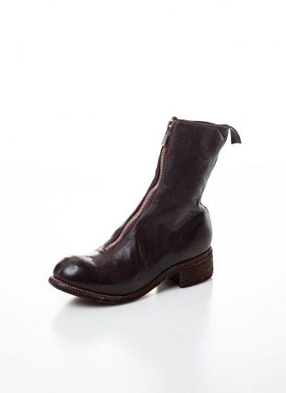GUIDI women front zip boot PL2 damen schuh stiefel goodyear soft horse full grain leather CV23T burgundy hide m 3