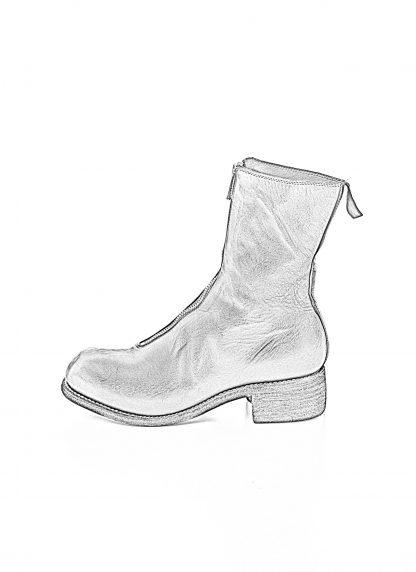 GUIDI women front zip boot PL2 damen schuh stiefel goodyear soft horse full grain leather black hide m 1