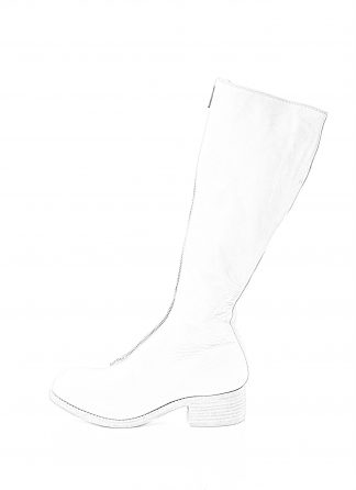 GUIDI women front zip boot PL3 damen schuh stiefel goodyear soft horse full grain leather CO00T white hide m 1