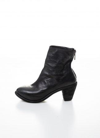 GUIDI women hidden platform high heel zip shoe boot 5006 damen schuh stiefel goodyear soft horse full grain leather black hide m 2