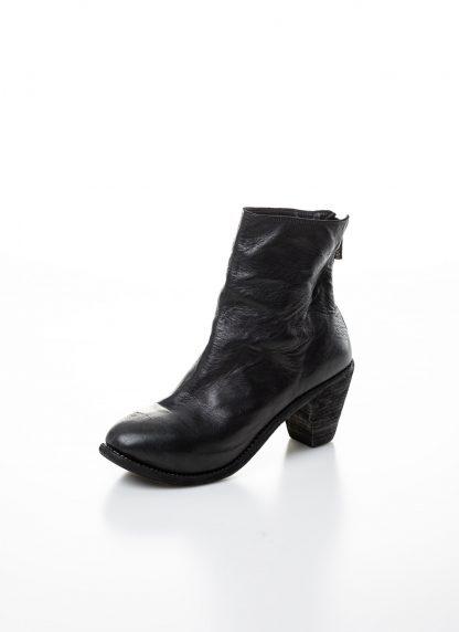 GUIDI women hidden platform high heel zip shoe boot 5006 damen schuh stiefel goodyear soft horse full grain leather black hide m 3