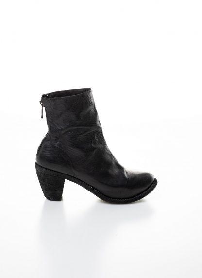 GUIDI women hidden platform high heel zip shoe boot 5006 damen schuh stiefel goodyear soft horse full grain leather black hide m 4