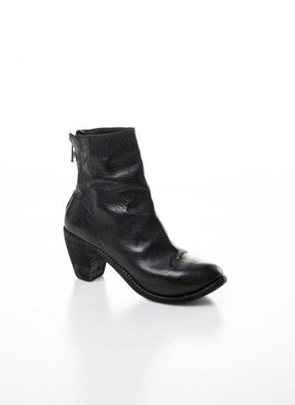 GUIDI women hidden platform high heel zip shoe boot 5006 damen schuh stiefel goodyear soft horse full grain leather black hide m 5