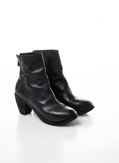 GUIDI women hidden platform high heel zip shoe boot 5006 damen schuh stiefel goodyear soft horse full grain leather black hide m 6