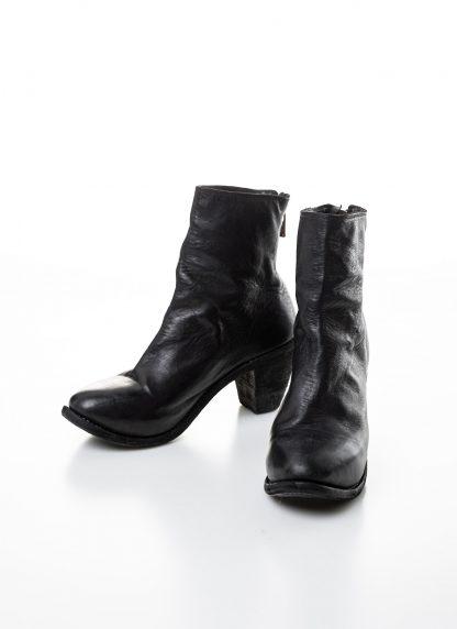 GUIDI women hidden platform high heel zip shoe boot 5006 damen schuh stiefel goodyear soft horse full grain leather black hide m 7