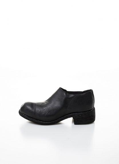 GUIDI women slip on derby shoe PL0E damen schuh stiefel goodyear soft horse full grain leather black hide m 2