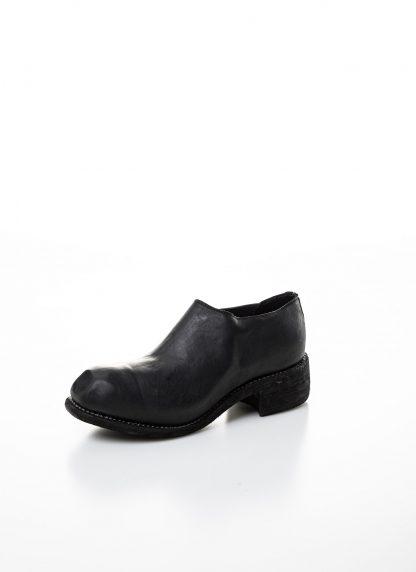 GUIDI women slip on derby shoe PL0E damen schuh stiefel goodyear soft horse full grain leather black hide m 3