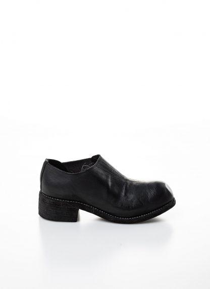 GUIDI women slip on derby shoe PL0E damen schuh stiefel goodyear soft horse full grain leather black hide m 4