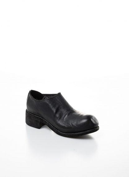 GUIDI women slip on derby shoe PL0E damen schuh stiefel goodyear soft horse full grain leather black hide m 5