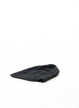 LAYER 0 beanie muetze cap hat cotton linen black hide m 2