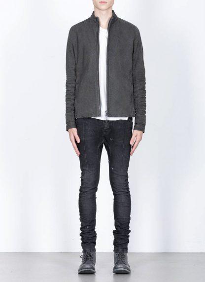 LAYER 0 men H jacket 22 15 herren jacke exclusively cotton canvas g. grey hide m 3