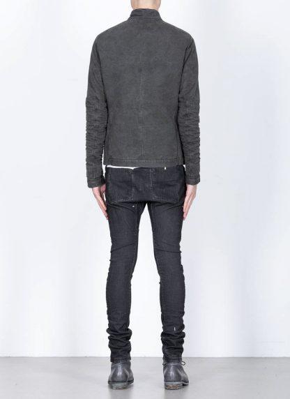 LAYER 0 men H jacket 22 15 herren jacke exclusively cotton canvas g. grey hide m 6