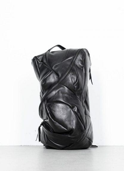 LEON EMANUEL BLANCK Distortion Pregnant Lady Backpack Bag Tasche Rucksack DIS M PLBP 01 horse full grain leather black hide m 2