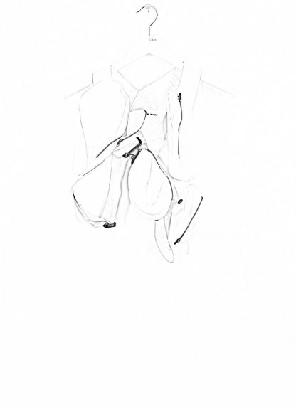 LEON EMANUEL BLANCK Distortion Transplant Harness DIS TH 01 horse full grain leather white hide m 1