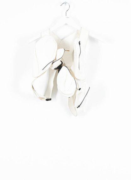 LEON EMANUEL BLANCK Distortion Transplant Harness DIS TH 01 horse full grain leather white hide m 2