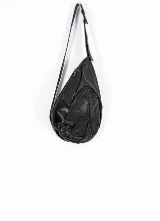 LEON EMANUEL BLANCK distortion dealer bag tasche DIS DB 01 L horse full grain leather black hide m 2