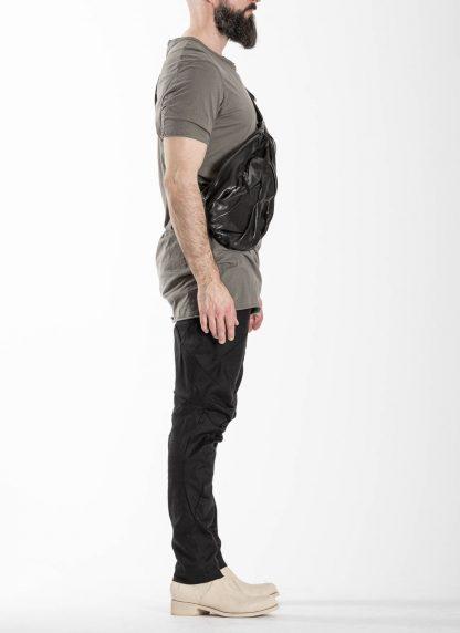 LEON EMANUEL BLANCK distortion dealer bag tasche DIS DB 01 L horse leather black hide m 5