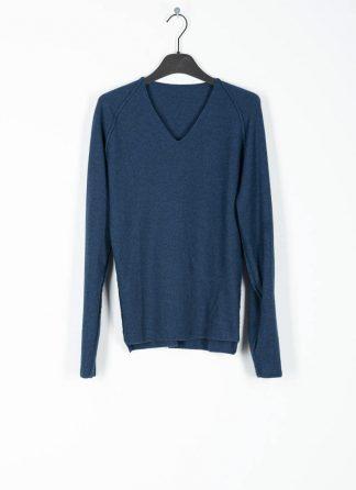 M.A MAURIZIO AMADEI fw1920 women V neck med fit pullover sweater damenpulli NT250 FWSK virgin wool silk cashmere petrol blue hide m 2