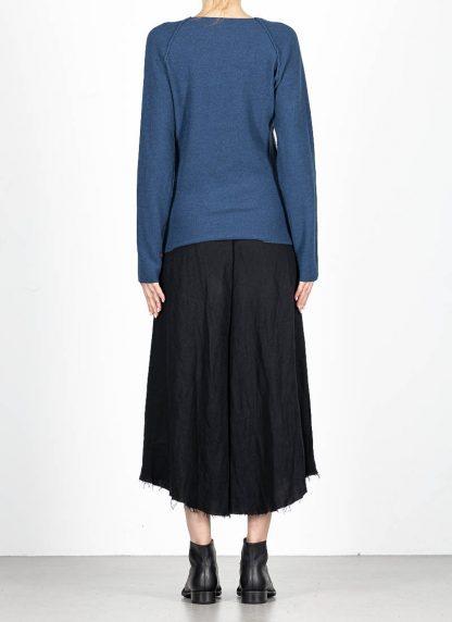 M.A MAURIZIO AMADEI fw1920 women V neck med fit pullover sweater damenpulli NT250 FWSK virgin wool silk cashmere petrol blue hide m 5