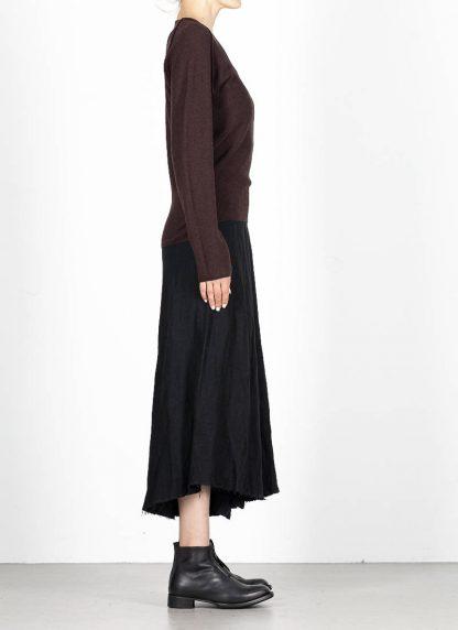 M.A MAURIZIO AMADEI fw1920 women V neck med fit pullover sweater damenpulli NT250 FWSK virgin wool silk cashmere red brown hide m 4