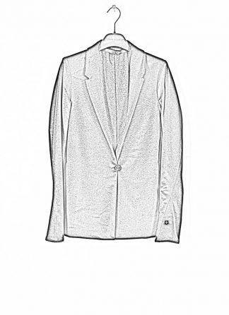 M.A MAURIZIO AMADEI fw1920 women Vertical Pockets Blazer Jacket damen jacke JW120 KK1 pure cashmere black hide m 1