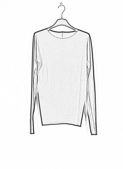 M.A MAURIZIO AMADEI fw1920 women med fit one piece long sleeve tshirt damen tee top TW221D JCL10 cotton black hide m 1