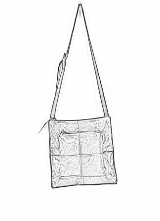 M.A Maurizio Amadei Patchwork Double Messenger Bag Tasche BQ22 CU 1.0 horse leather black hide m 1