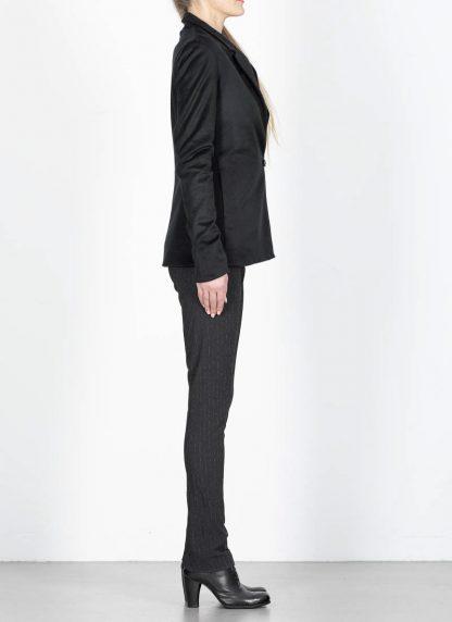 M.Across MAURIZIO AMADEI fw1920 women Vertical Pockets Blazer Jacket damen jacke JW120 KK1 pure cashmere black hide m 5