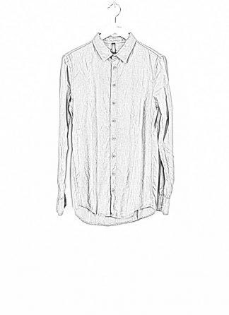 POEME BOHEMIEN fw1920 men button down shirt hemd regular fit SH 01 T602 30 cotton light grey hide m 1