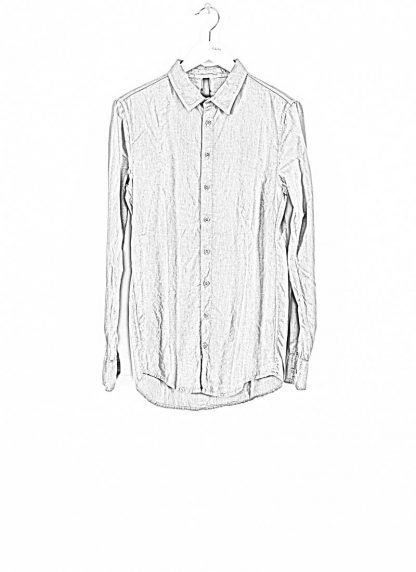 POEME BOHEMIEN fw1920 men button down shirt hemd regular fit SH 01 T602 30 cotton light grey hide m 1