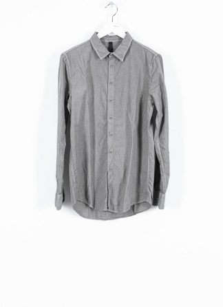 POEME BOHEMIEN fw1920 men button down shirt hemd regular fit SH 01 T602 30 cotton light grey hide m 2