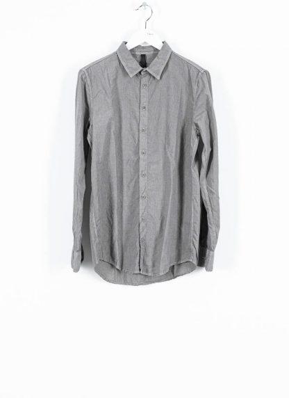 POEME BOHEMIEN fw1920 men button down shirt hemd regular fit SH 01 T602 30 cotton light grey hide m 2