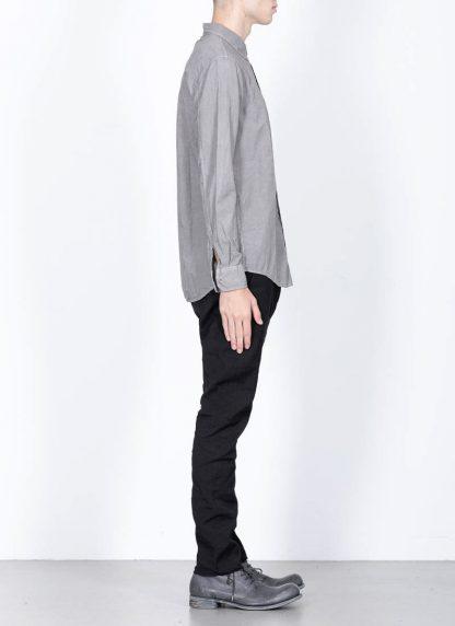 POEME BOHEMIEN fw1920 men button down shirt hemd regular fit SH 01 T602 30 cotton light grey hide m 4