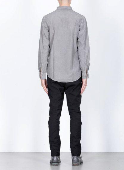 POEME BOHEMIEN fw1920 men button down shirt hemd regular fit SH 01 T602 30 cotton light grey hide m 5