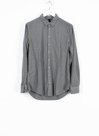 POEME BOHEMIEN fw1920 men button down shirt hemd regular fit SH 01 T602 70 cotton medium grey hide m 2